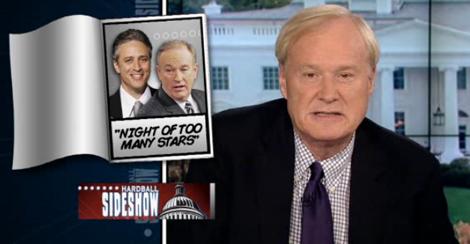 Chris Matthews and Bill O'Reilly conduct helium-filled debate