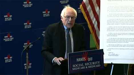Hands off Social Security, Medicare and Medicaid