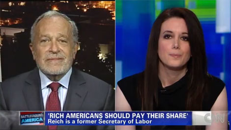 Is She Insane? Robert Reich and Carol Roth Argue About Taxes