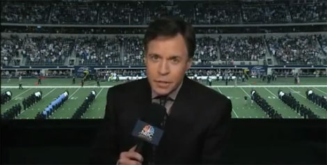 Bob Costas rants about gun control during halftime (VIDEO)
