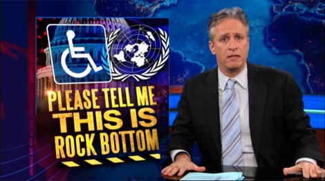Jon Stewart: Please Tell Me This is Rock Bottom