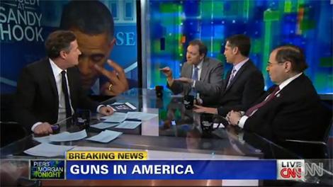 CNN: Heated Debate on Gun Control After Mass Shooting