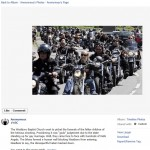 Hells Angels Block Westboro Baptist Church from Picketing Newtown Victims' Funerals