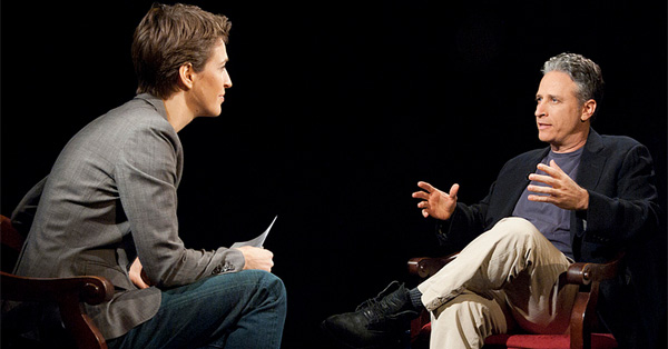 Watch Rachel Maddow's Uncut Interview With Jon Stewart