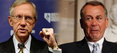 'Dictatorship' and 'debacle': Reid Attacks Boehner