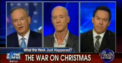 O'Reilly: War On Christmas Includes Abortion & Gay Rights Agenda