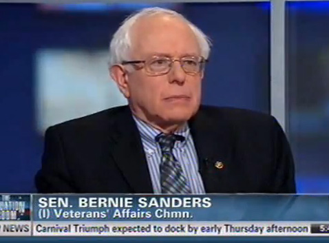 Bernie Sanders: Protecting Veterans' Benefits (VIDEO)