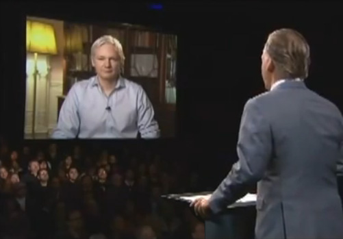 Julian Assange Bill Maher Interview (VIDEO)