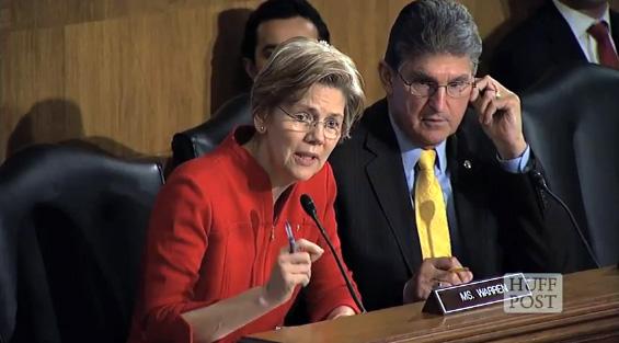 Elizabeth Warren Stands Up To Bank Regulators And Makes Them Squirm (VIDEO)