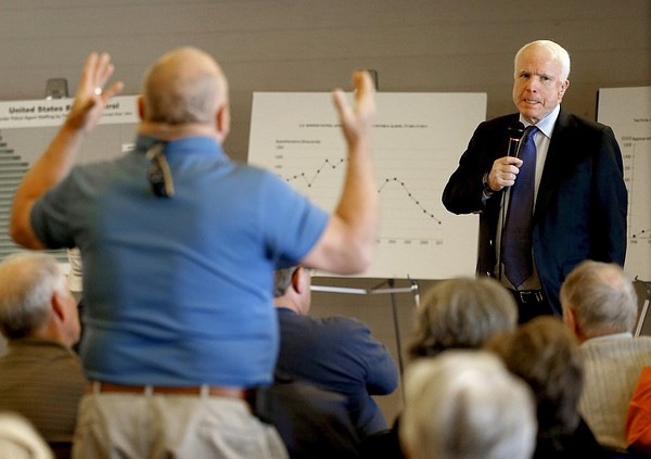 Blowback Is Hell: John McCain's Town Hall Meeting Gone Bad (VIDEO)