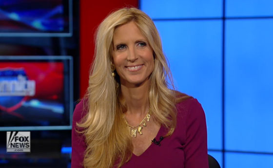 Ann Coulter: 'Liberal women shouldn't be able to hold office' (VIDEO)