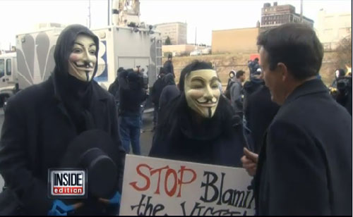 Hacktivists Anonymous Make An Appearance At Steubenville, Ohio, Rape Trial (VIDEO)