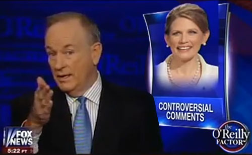 Bill O'Reilly Slams Michele Bachmann Calling Her Attack On President 'Trivial' (VIDEO)
