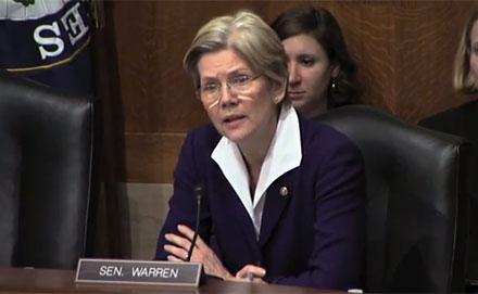 Elizabeth Warren Nails It On Minimum Wage – Video