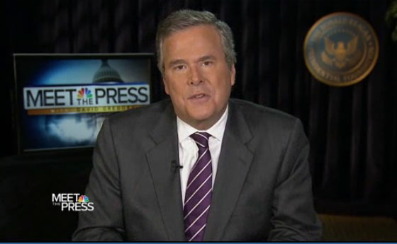 Jeb Bush On His Immigration Flip-Flops, George Bush's Legacy And Reporters As 'Crack Addicts' (VIDEO)
