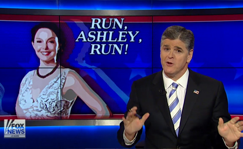 Sean Hannity: Run, Ashley, Run! (VIDEO)
