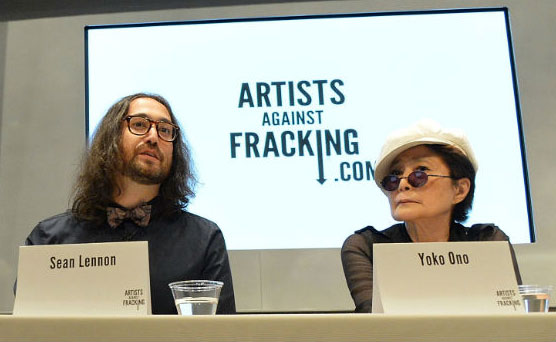 Sean Lennon, Yoko Ono, and Artists Against Fracking Present: 'Don't Frack My Mother'
