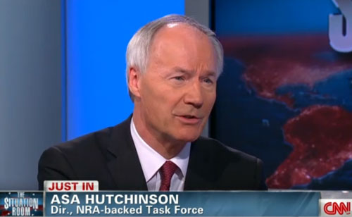 NRA National School Shield Task Force Director 'open to expanding background checks' (VIDEO)