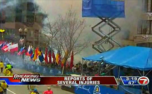 BREAKING: Two Explosions Cause Multiple Injuries At Boston Marathon (VIDEO)