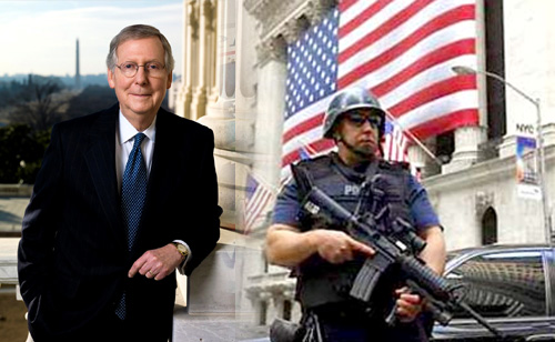 Mitch McConnell and Police State Politics