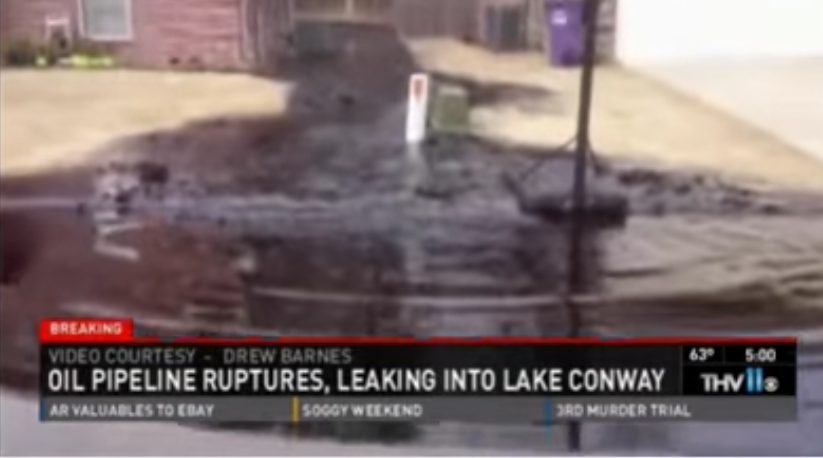 Why Oil Pipelines Through Anybody's Backyard Are Total BS — In One Horrifying Clip