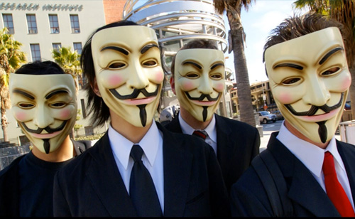 Anonymous Calls for Internet Blackout Monday (VIDEO)