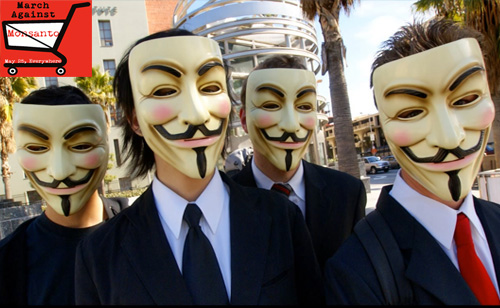 Anonymous Joins the 'March Against Monsanto' (VIDEO)
