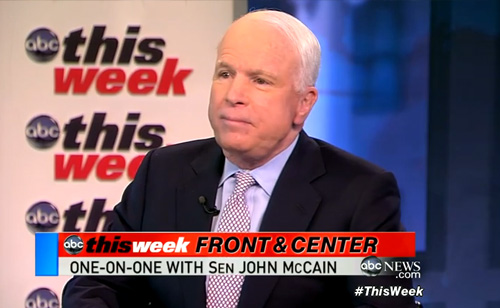 McCain Defends Obama Against Impeachment