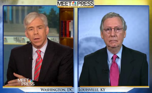Mitch McConnell Admits No Evidence Against Obama in IRS Scandal (VIDEO)