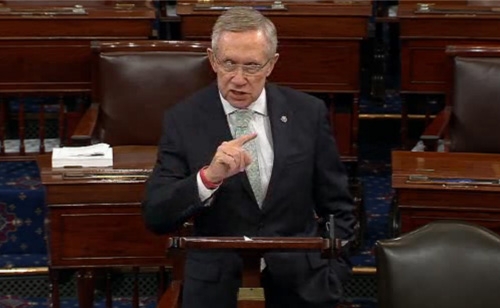 Quoting Einstein Harry Reid Slams House Republicans (VIDEO)