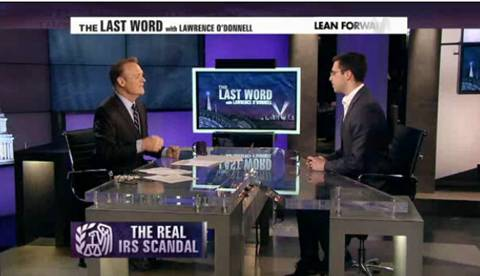 The Real IRS Scandal, By Lawrence O'Donnell And Ezra Klein