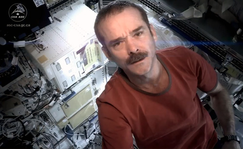 Chris Hadfield Returns to Earth Today from International Space Station