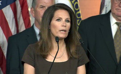 Bachmann Slams Supreme Court, says Justices not at 'Level of God' (VIDEO)