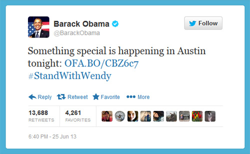 When President Barack Obama Tweets About Something Special