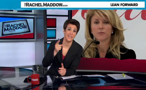 Maddow: Outrage as Texas Abortion Bill Threatens Well-Being of Millions of Women (VIDEO)