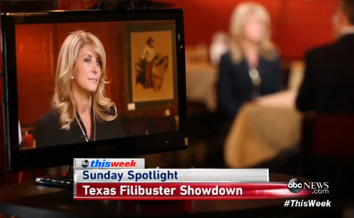 Wendy Davis on Special Session and Filibuster Support: 'I Was Completely Blown Away' (VIDEO)