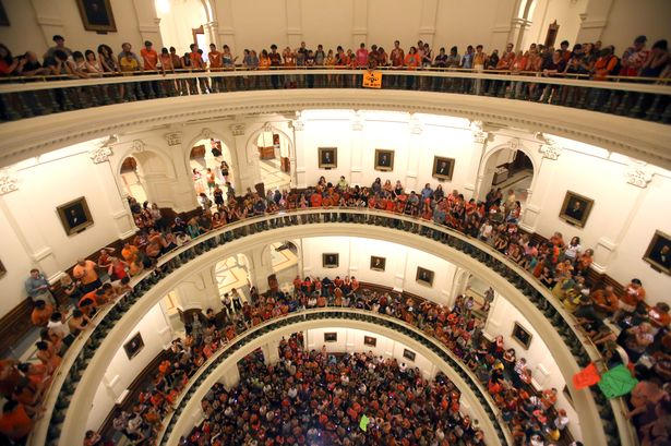 The Battle For Women's Rights Rages In Texas
