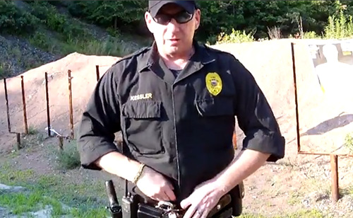 Liberal-Hating Police Chief 'Play-Shoots' Nancy Pelosi & Calls For Militia  (VIDEOS)