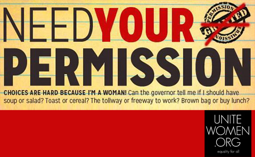 'Need Your Permission' Goes Nationwide with the help of UniteWomen.org: ONE PERSON CAN MAKE A DIFFERENCE!