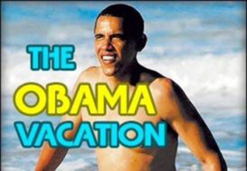 BUSTED! Right-Wing Myth Of The Summer — The Obama Vacations