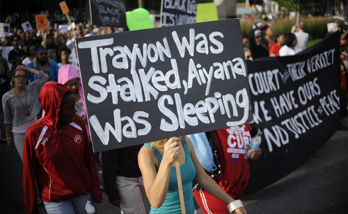Trayvon Martin Protesters Clash with Police (VIDEOS and TWEETS)