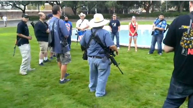 Gun Owners March In 4th Of July Display Of Firepower (VIDEO)