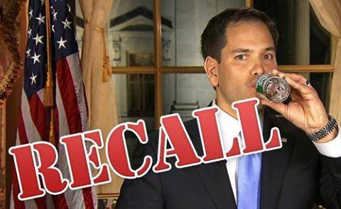 Petition To Recall Florida Senator Marco Rubio