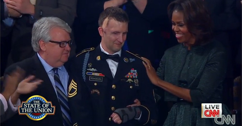 War Hero Cory Remsburg Honored During State Of The Union (VIDEO)