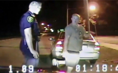 So This Drunk Driver Thinks He Can Dance (VIDEO)