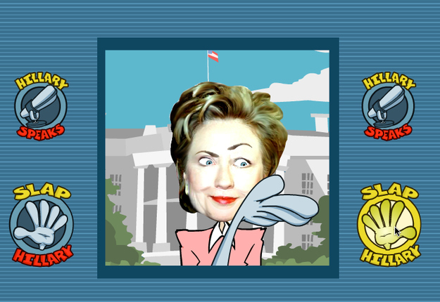 Republican Super PAC Urges You To Slap Hillary Clinton Across The Face