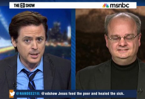 John Fugelsang Totally Owns Fundy Chaplain Over Obamacare