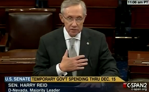 Harry Reid: I Won't 'Bow Down to Tea Party Anarchists'