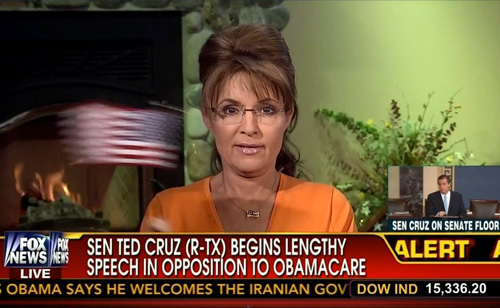 Sarah Palin Rants About Ted Cruz – Is America Listening or Laughing?