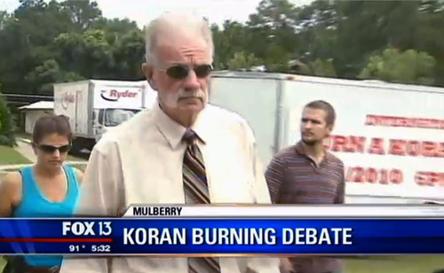 Pastor Terry Jones Arrested Before He Could Burn Qurans